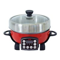 Model#DHG0512 electric hot pot cooker