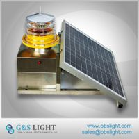 Medium-intensity Type B Solar Aviation Obstruction Light