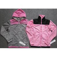 Nice garment stock lot offer, 66,894pcs Men's&Ladies double-faced pile track sportswear TC1-656 thumbnail image