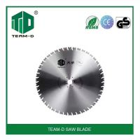 Diamond saw blades for reinforced concrete and quarry stone