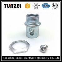 Steel set screw type emt connectors