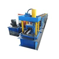 Passed CE and ISO Rack Beam Shelf Panel Roll Forming Making Machine thumbnail image