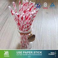 Stripe cake pop paper stick