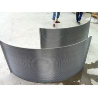 wedge wire sieve bend screen