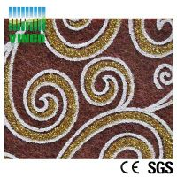 raw material polyester fiber cotton made polyester fiber panel for hotel thumbnail image