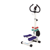 E-YYT-04 Hydraulic Exercise Stepper with Handlebar with Dumbbell