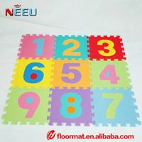 eva foam mat for child educational toys