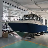 Seaking SKB755 7.55m aluminum full cabin fishing boat