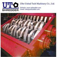 double roller crusher D2840 for scap plastic, PET, PP, HDPE, LDPE, PE, PVC sheet bottle film crusher thumbnail image