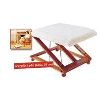 adjustable, foldalbe footrest/foot stool/leg rest thumbnail image