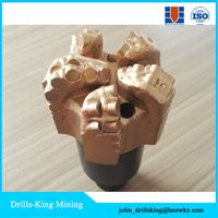 Diamond pdc 5 blades cutter blade water well drilling equipment tools bits thumbnail image