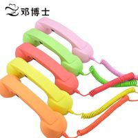 retro phone handset with rubber  for phone