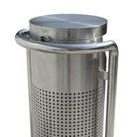 Stylish Street Garbage Bin [Stainless Steel] [FREE SHIPPING] thumbnail image