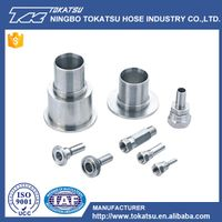 China Factory OEM ODM High Precision Stainless Steel Pipe Fittings