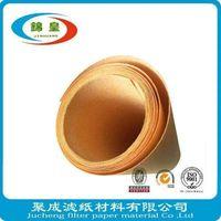 Composite fiber filter material paper roll