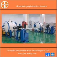 High temperature of 3000 degree induction type vacuum graphene graphitization furnace