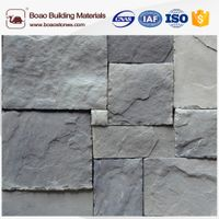 Artificial stone wall panel for exterior and interior house decoration