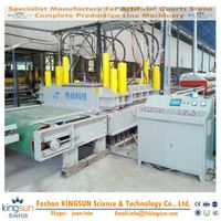 quartz stone press/quartz stone pressing line machine