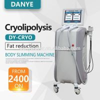 2017 new 360 cryotherapy vacuum ultrasonic cavitation rf 4 in 1 cool fat freezing body slimming mach