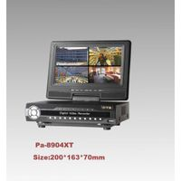 H.264Stand-alone DVR with LCD