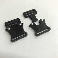POM Plastic 25mm double adjustment buckle for backpack