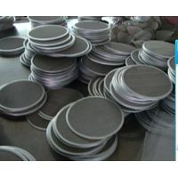 stainless steel filter sheet Stainless Steel Filter Disc wire mesh disc