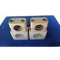 High quality aluminum pipe clamps designed to DIN 3015