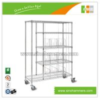 cloth wire shelving| wire cart| wire trolley thumbnail image