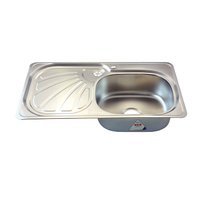 Stainless steel kitchen sink - Rossi Economic - RA22