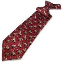 Jacquard polyester necktie