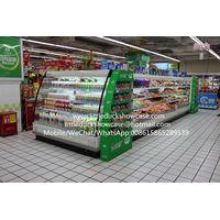 Hypermarket Round Island Open Display Fridge