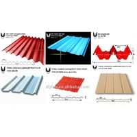 corrugated color steel sheet/ construction steel plate