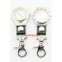 promotion gift fashion carabiner watch hook watch advertising poket watch key chain watchc