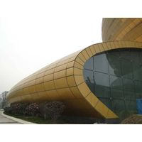 Aluminum Curtain Wall Cladding