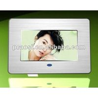 mp3 mp4 video digital photo frame of 7 inch thumbnail image
