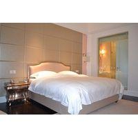 hotel bed headboard, hotel bed frame, modern hotel bed