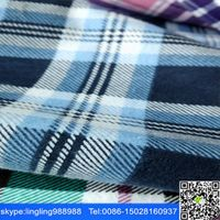 stock lot cheap cotton yarn dyed  check design fabric for shirt