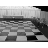 Black and White Dance Floor for party,event,wedding