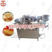 Automatic Italian Pizzelle Baking Machine Round Waffle Cookie Machine thumbnail image