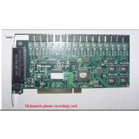 16channels Telephone voice recording card thumbnail image