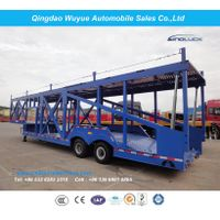 Double Floor Auto Hauler Car Carrier Semi Trailer