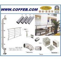 Stainless Steel Handrail Balustrade/Staircase Railing/ handrail