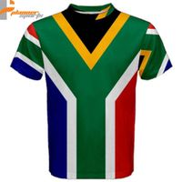 South Africa South African Flag Sublimated Sublimation T-Shirt S,M,L,XL,2XL,3XL