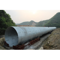 Corrugated steel drainage pipeAgriculture irrigation culvert pipe corrugated metal pipe supplier