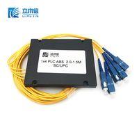 1x4 PLC Splitter Customized (Planar Lightwave Circuit Splitter) ABS module sc apc