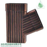 New Sunlight Resistance Color Metal Gutter System, View Metal Gutter System