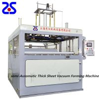 Zs-1512 Single Station Thick Sheet Vacuum Forming Machinery