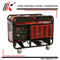 10KW POWER OPEN TYPE OR CANOPY WATER COOLED DIESEL GENSET/BOAT MARINE ENGINE HOUSEHOLD GENSET DIESEL