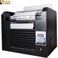 Honzhan HZ-UVA3-6C Digital UV Led Flatbed Printer 2860cm With 6 inks colors