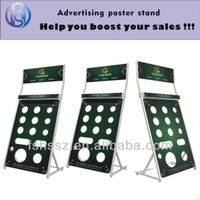 new products on China market light bulb display stand HS-ZS02